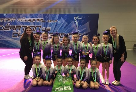 CMT Cheerleading will take part within the provincial