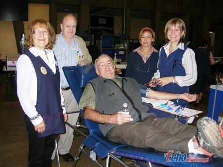 70 personnes participent à la collecte de sang du Festival de la galette
