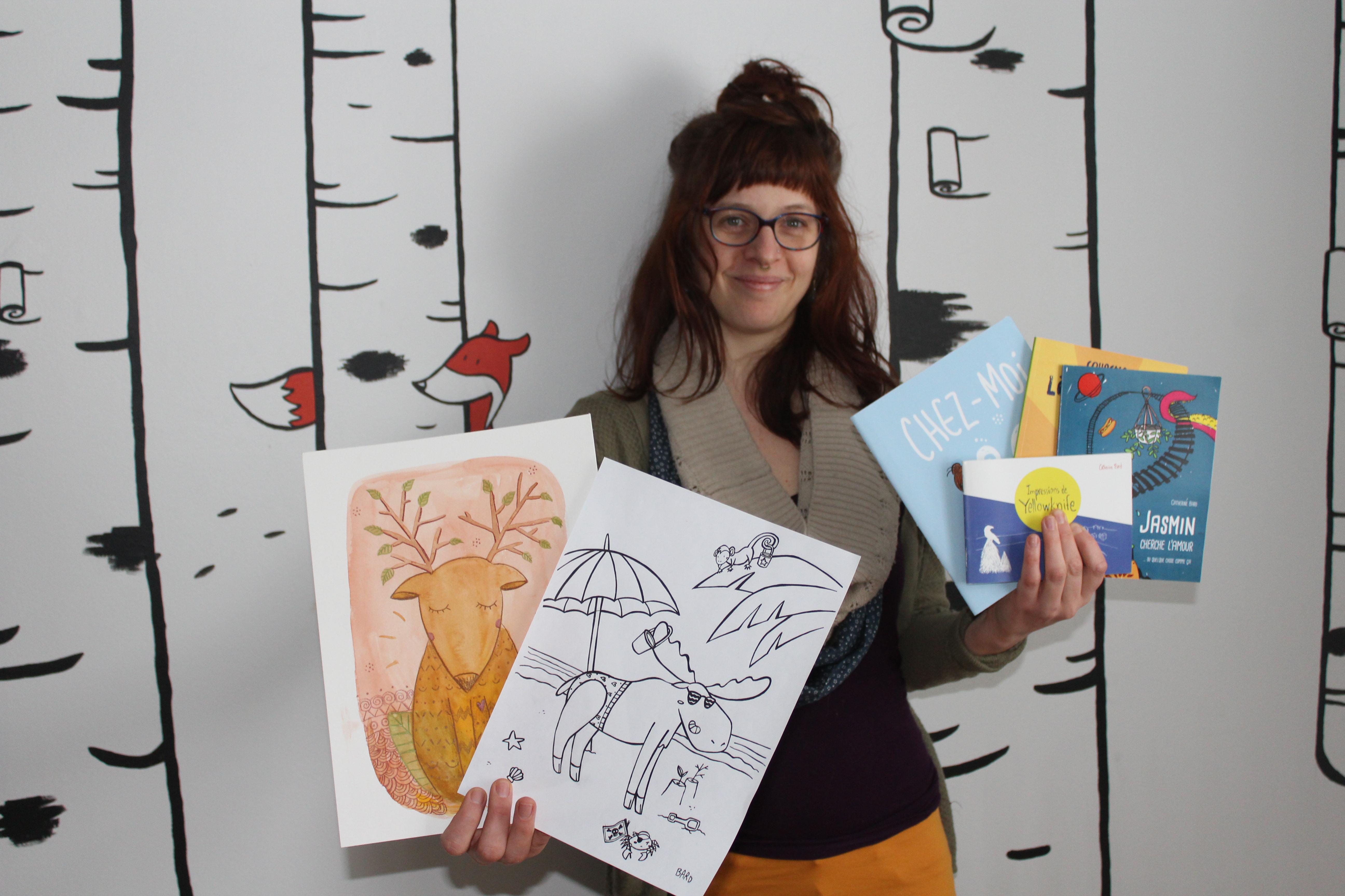 Catherine Bard: biologiste, artiste et bédéiste