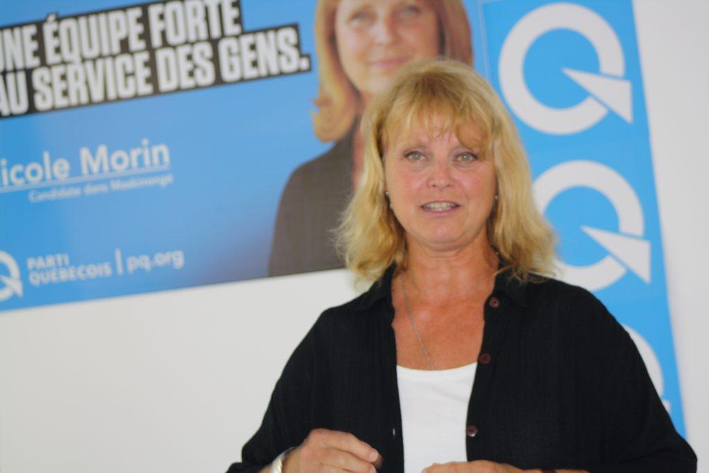 Nicole Morin devient présidente du Parti Québécois dans Maskinongé