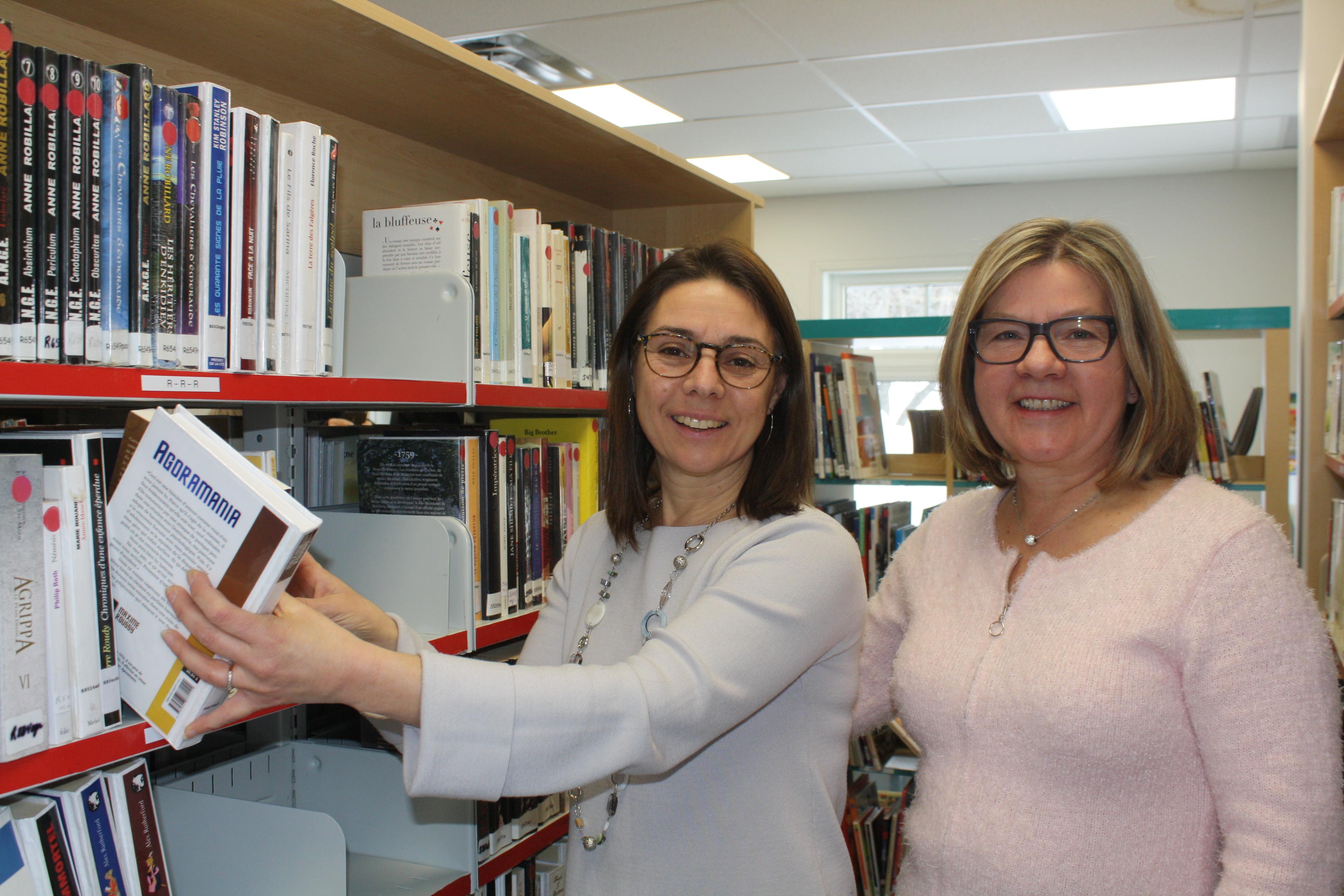 Saint-Élie: une bibliothèque municipale plus conviviale