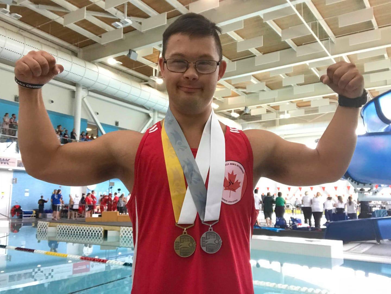 Samuel Dupuis s'illustre aux Jeux d'été d'Olympiques spéciaux Canada