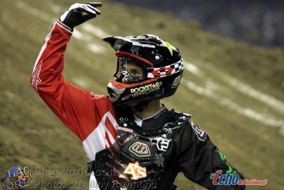 Ben Milot sera du Supercross Montréal