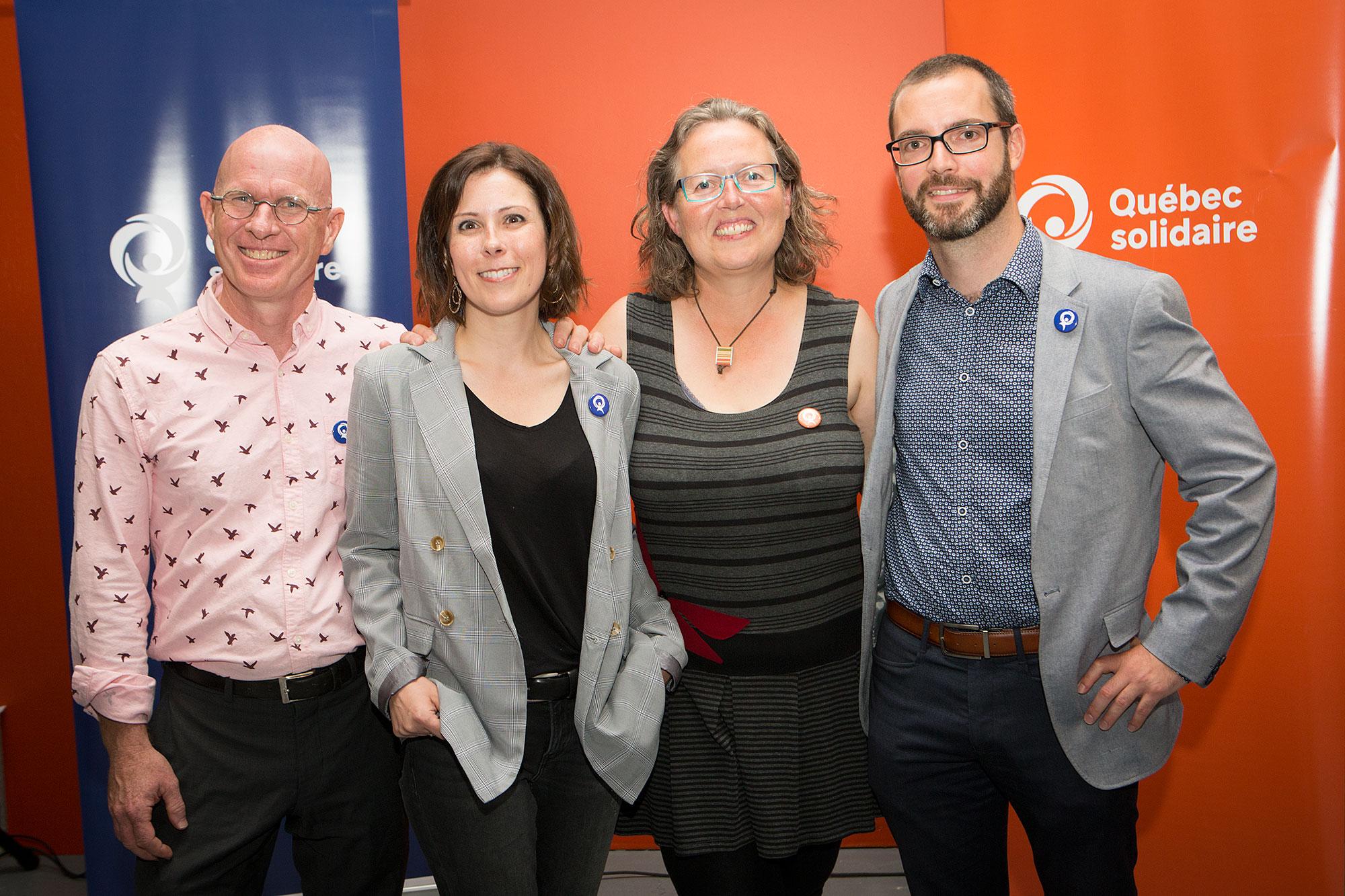 L'équipe solidaire en région confiante à l'aube de l'élection