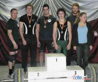 Cinq athlètes du Club d'haltérophilie Orca de la Mauricie participeront au Championnat Junior du Québec