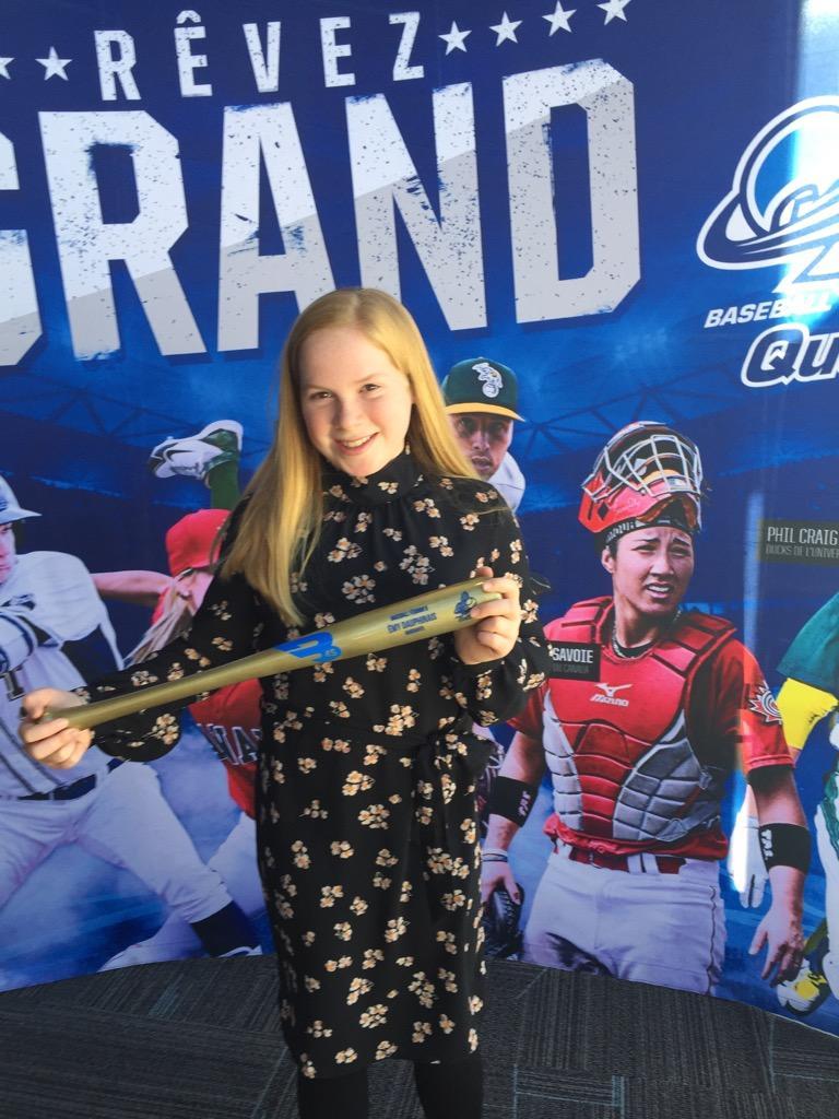 Deux lauréates aux Assises de Baseball Québec