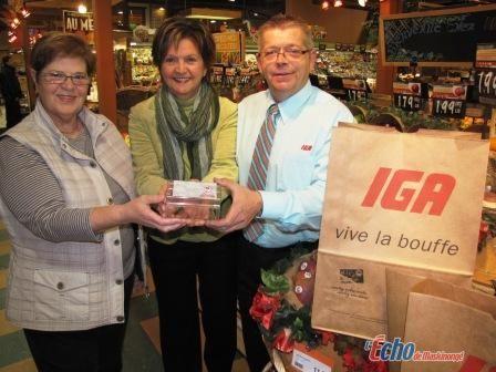 Le Noël du pauvre au Marché IGA de Louiseville
