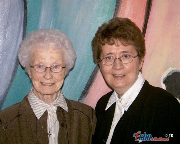 Sœurs Rollande Leduc et Lise Lessard ont marqué la vie d'Yamachiche