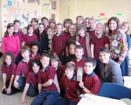 Une belle matinée de l'entraide à l'école primaire de Louiseville
