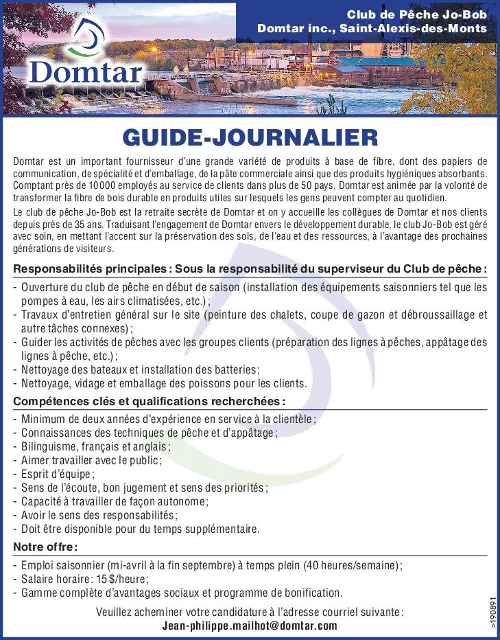 GUIDE-JOURNALIER