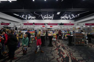 Salon du livre: plus de 18 000 visiteurs au rendez-vous