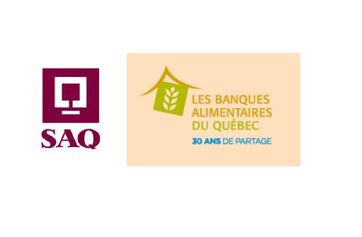 SAQ s'associe au réseau des Banques alimentaires du Québec