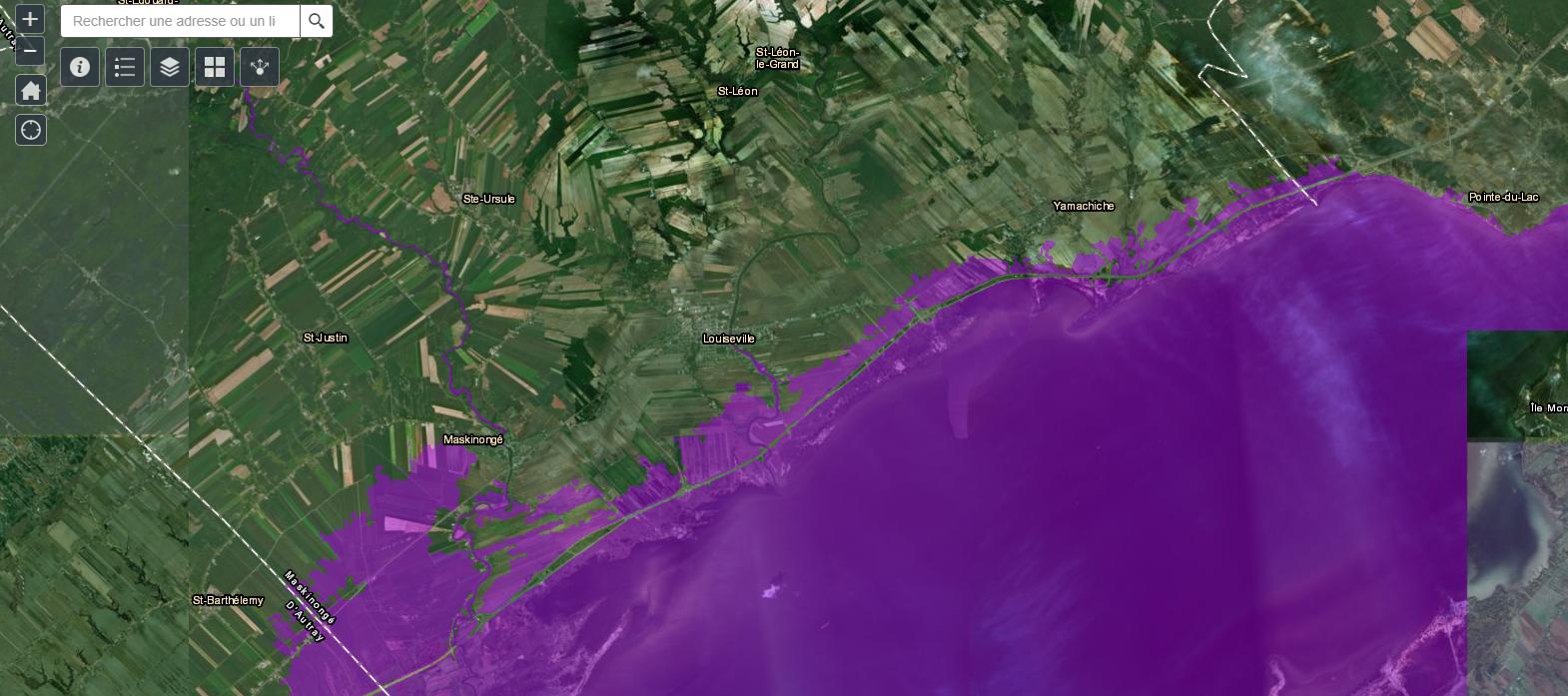 Une nouvelle cartographie sur les zones inondables