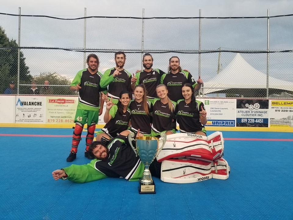 LDHL: six équipes championnes