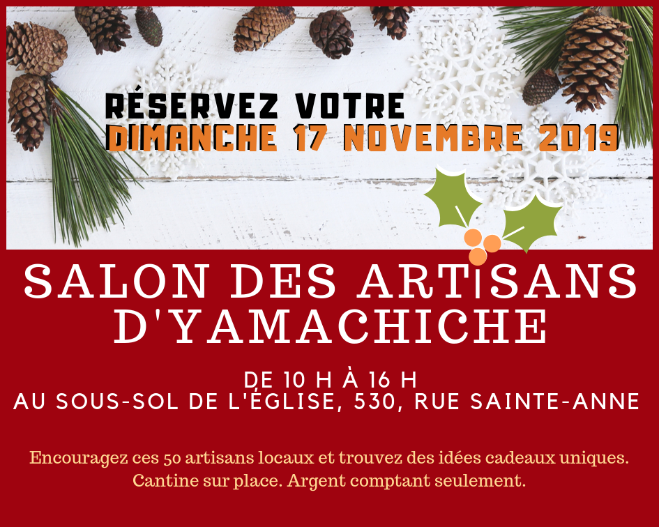 Salon des artisans de Yamachiche