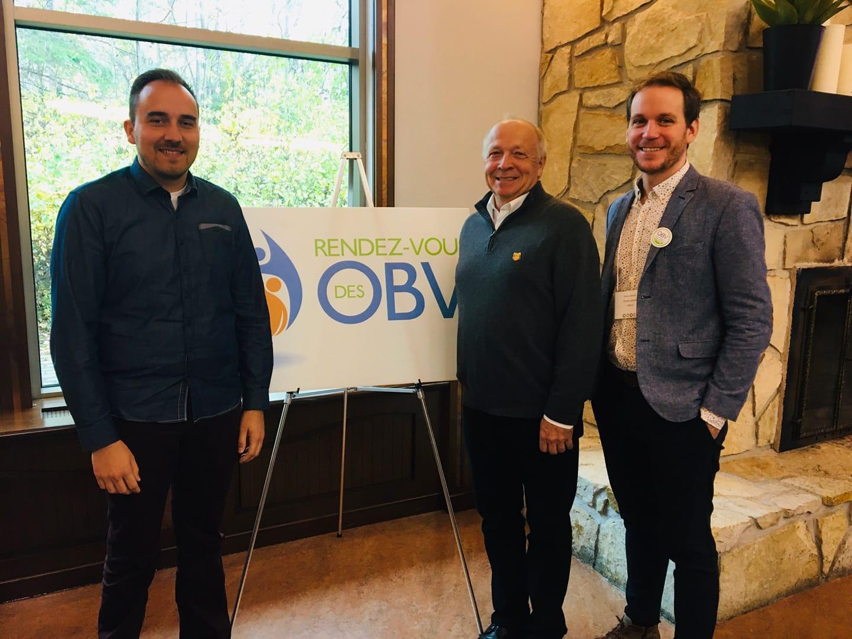 Les OBV du Québec se sont réunis à Saint-Alexis-des-Monts