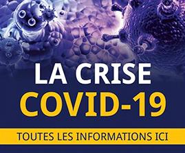COVID-19: deux nouveaux décès dans la région