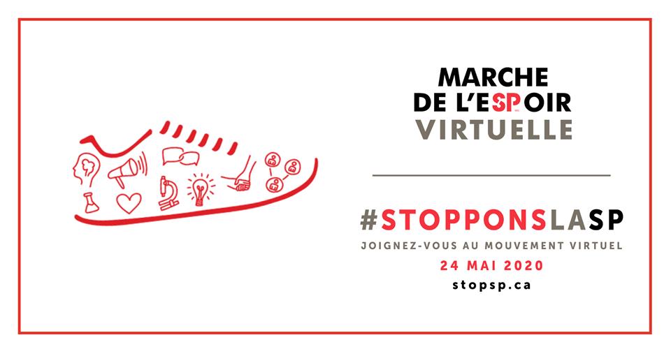 Une première Marche de l'eSPoir virtuelle