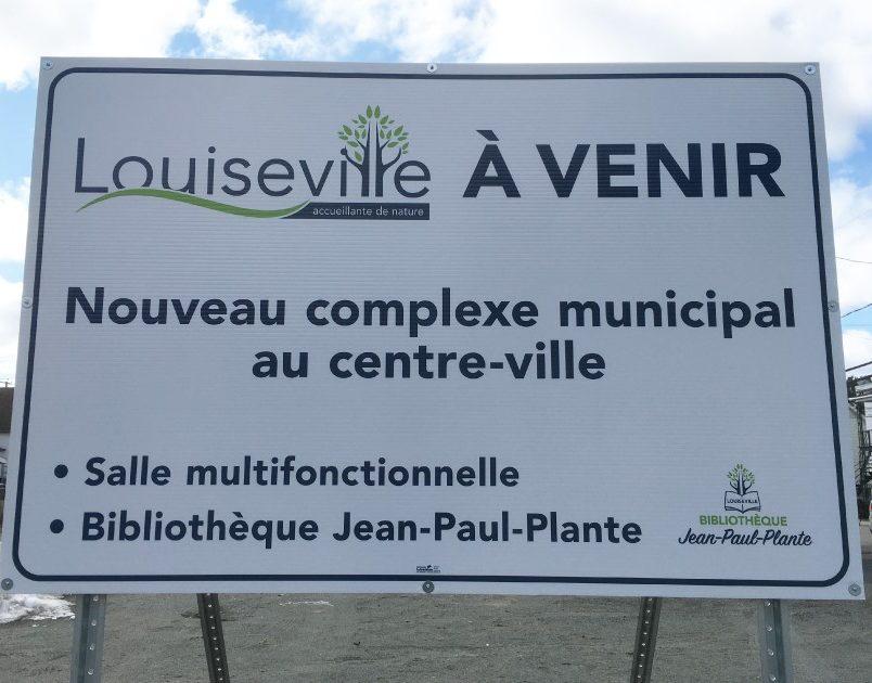 Louiseville consulte ses citoyens sur son projet de complexe municipal