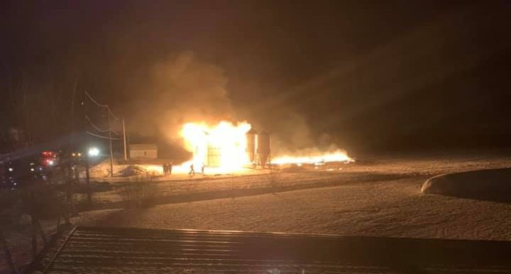 Un incendie rase un poulailler à Saint-Léon-le-Grand
