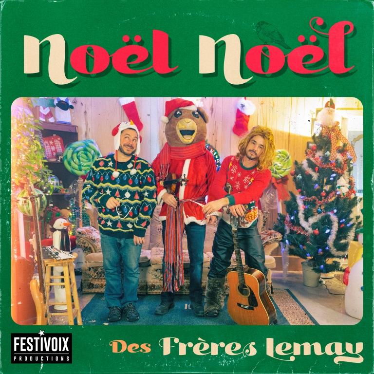 Un cadeau de Noël du FestiVoix et des Frères Lemay
