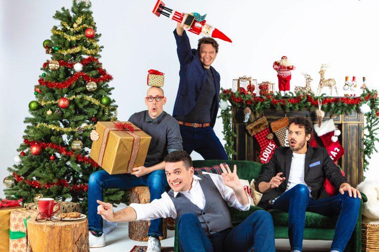 QW4RTZ prépare un album de Noël
