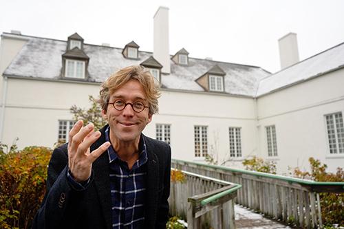 Forges-du-Saint-Maurice: Fred Pellerin prépare un parcours audio