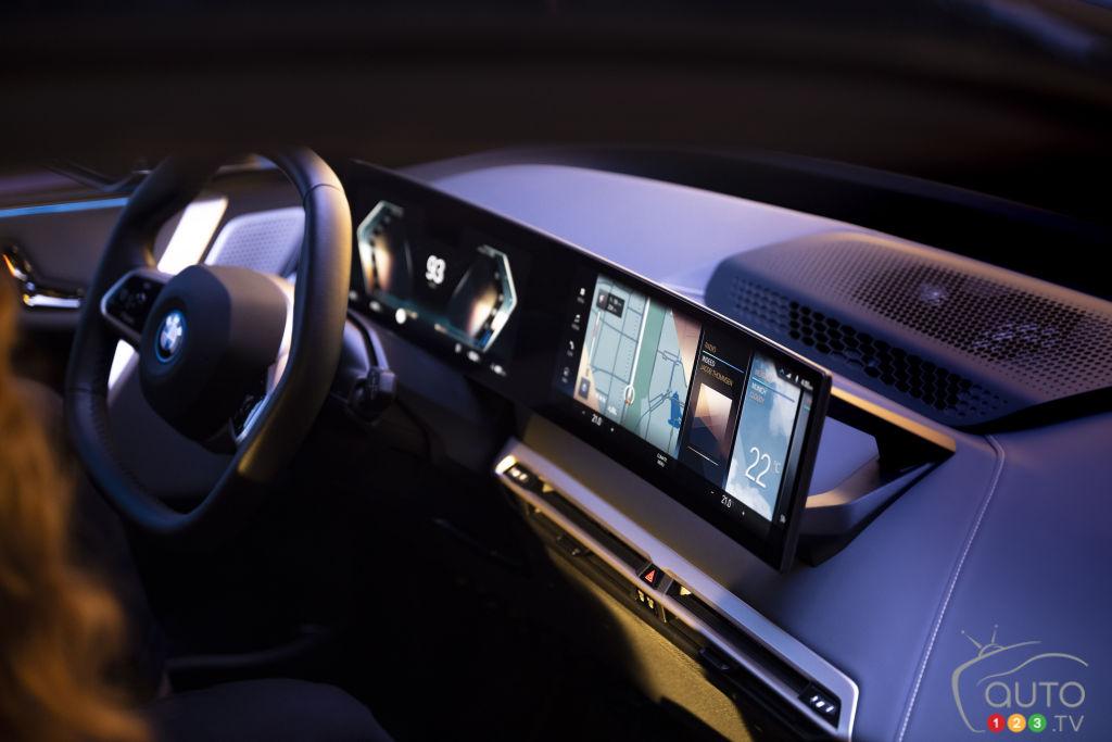 BMW présente le système multimédia iDrive 8