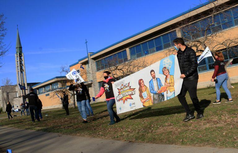 Une autre grève des enseignants le 27 avril