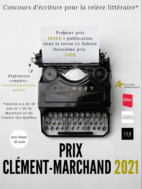 Prix Clément-Marchand 2021: ouverture du 41e concours littéraire